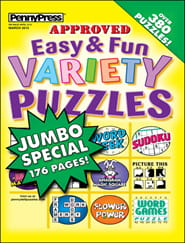 Approved Easy & Fun Variety Puzzles1